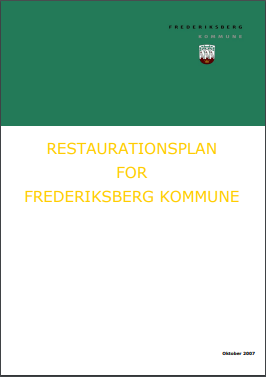 Restaurationsplan for Frederiksberg Kommune